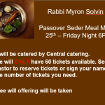 Seder Passover Meal
